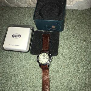 Men's Fossil Genuine Watch